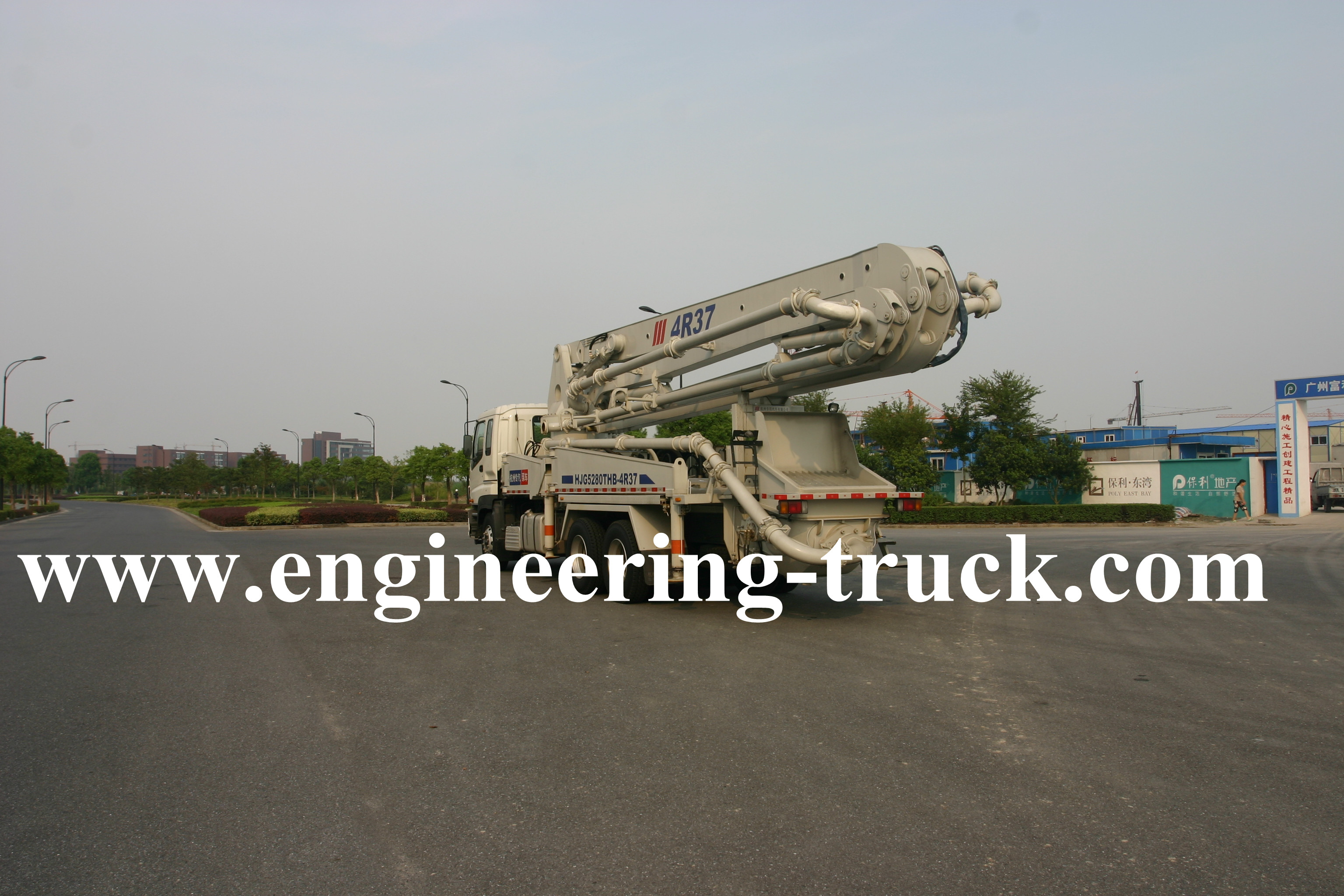 ISUZU Truck-mounted Concrete Pump 37m