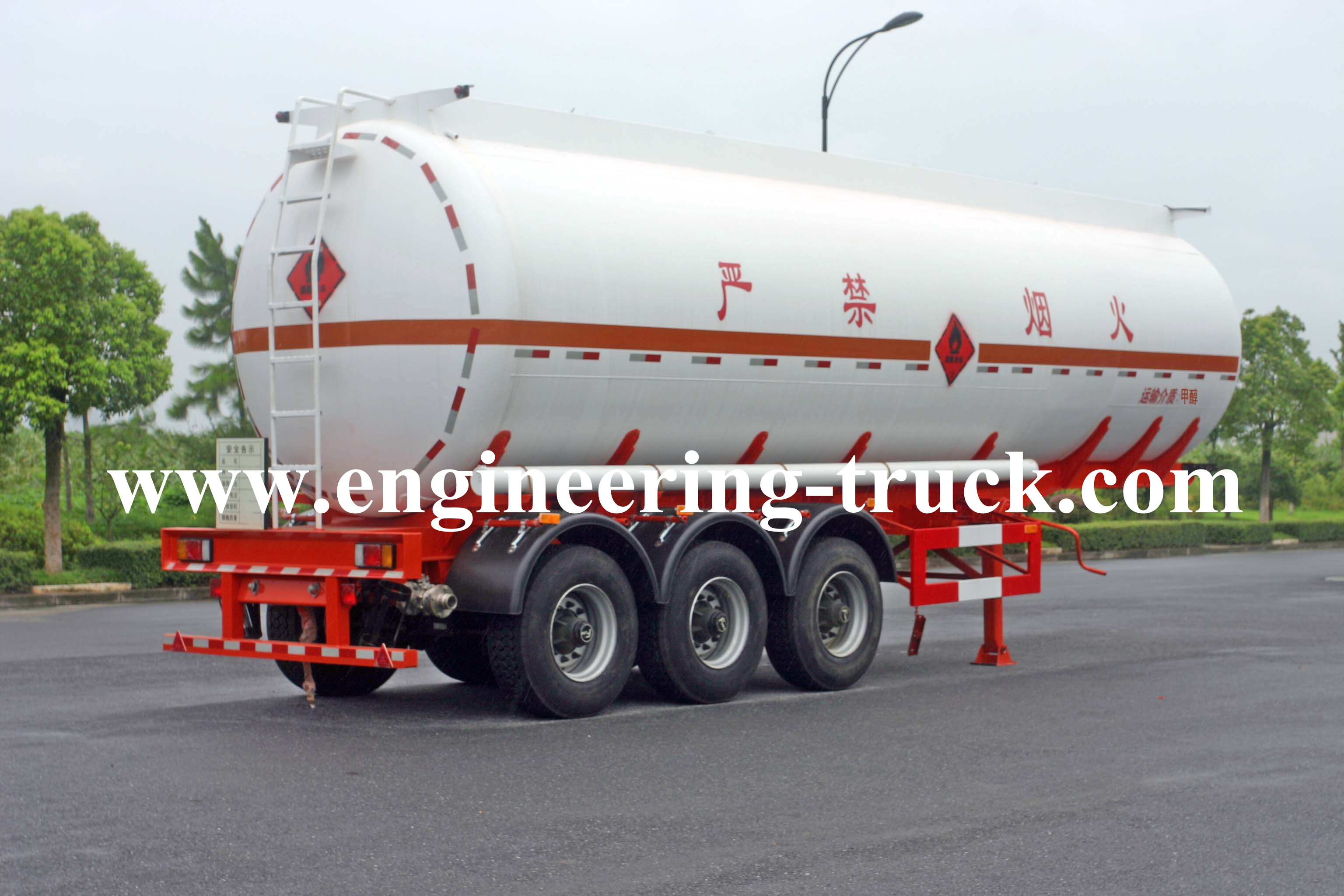 Liquid Tank Semi trailer manufacture