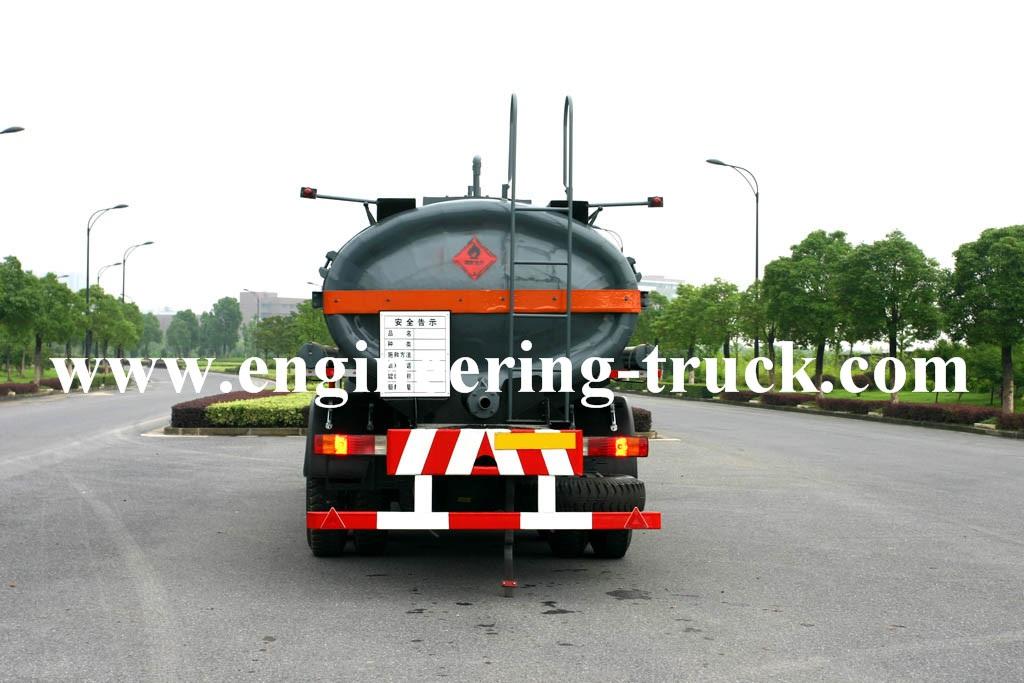 15m3 Chemical Liquid Tank Truck for Fluoroscope