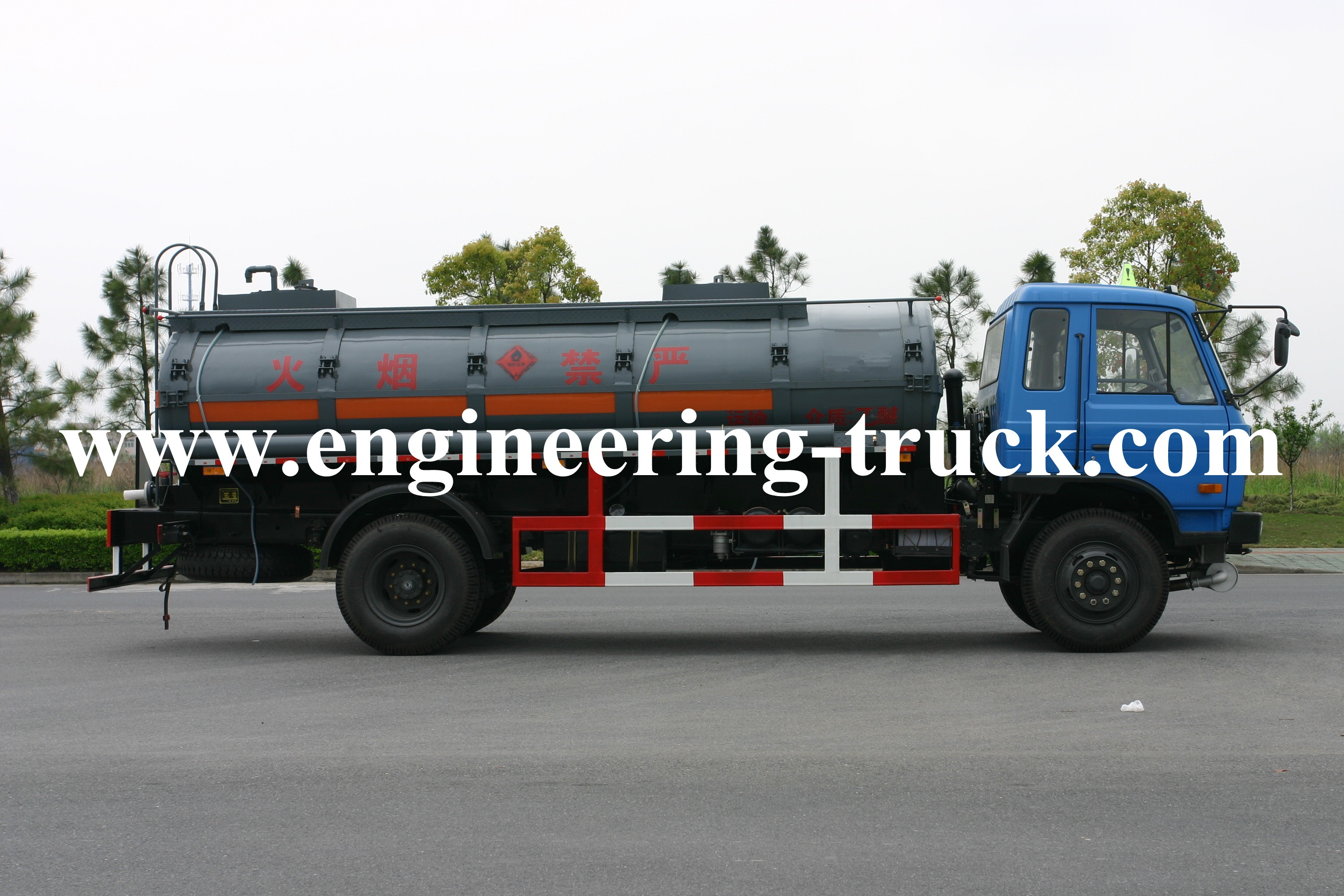 12m3 Chemical Liquid Tank Truck for Aether