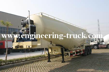 Bulk Cement Tank Semi-trailer truck for sale