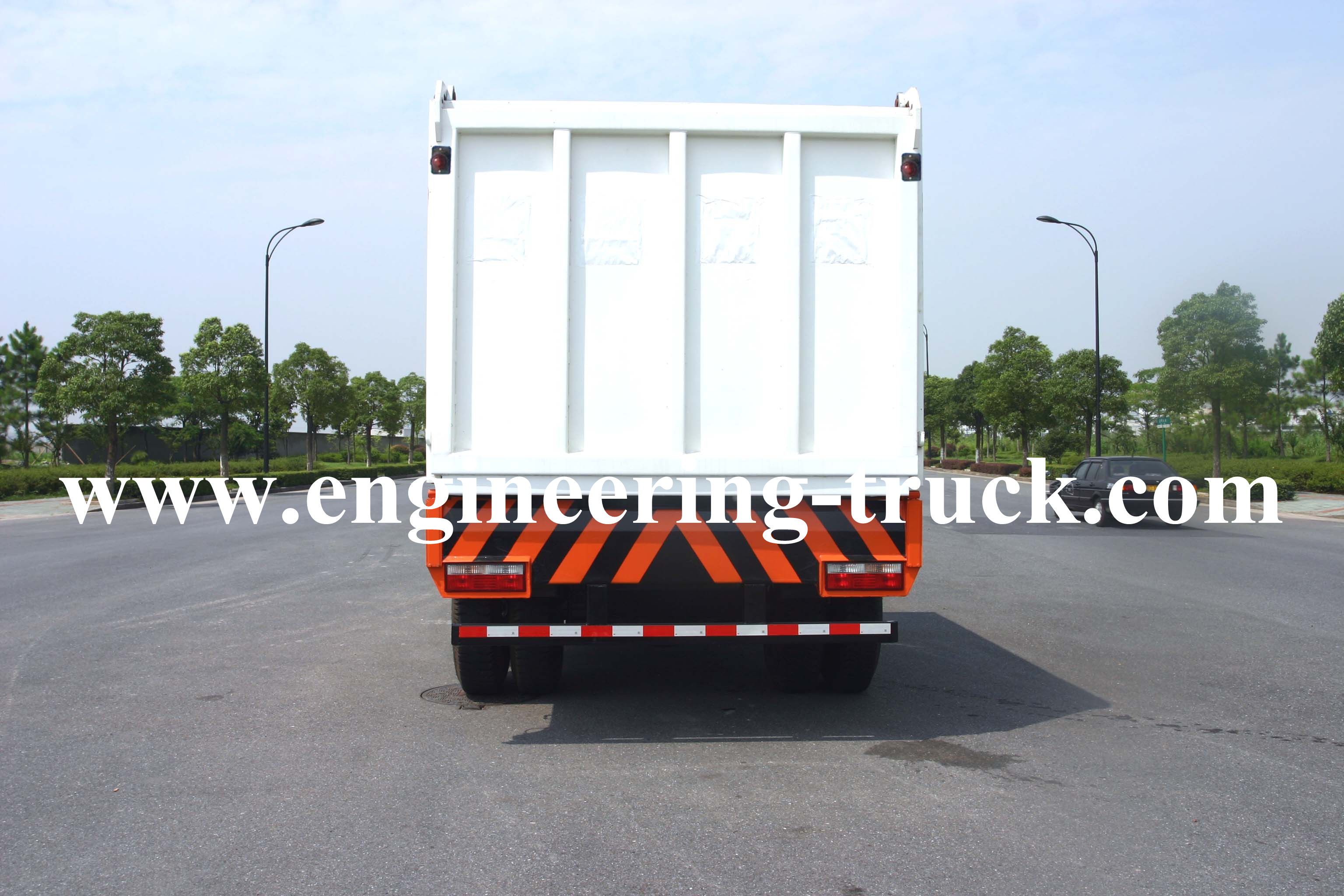 Garbage Collection transportation Vehicle