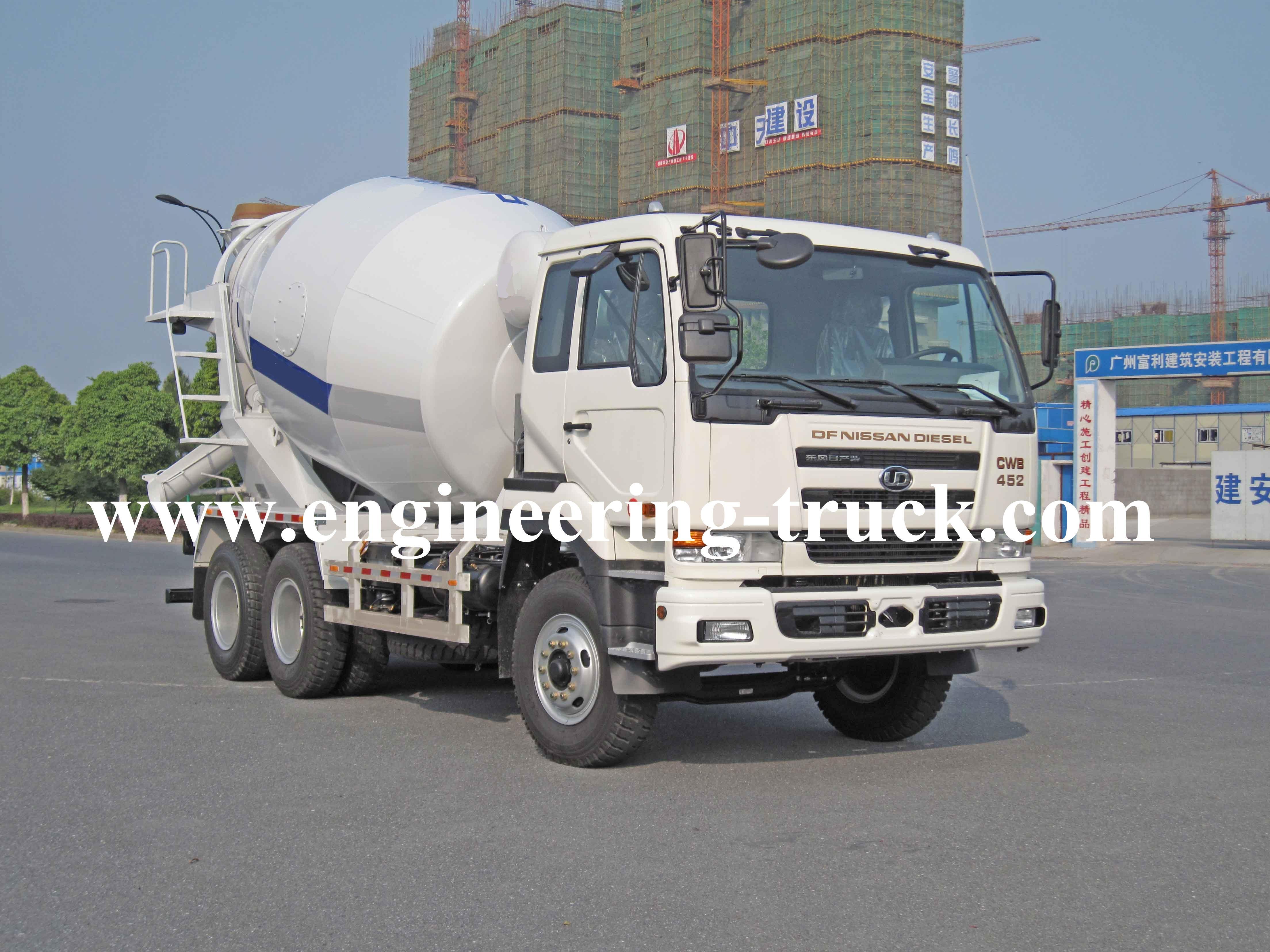 Concrete Mixer Truck (8-12m³)