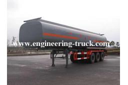 46m3 Chemical Liquid Tank Semi-trailer for Cyclopentane/Gas/Diesel