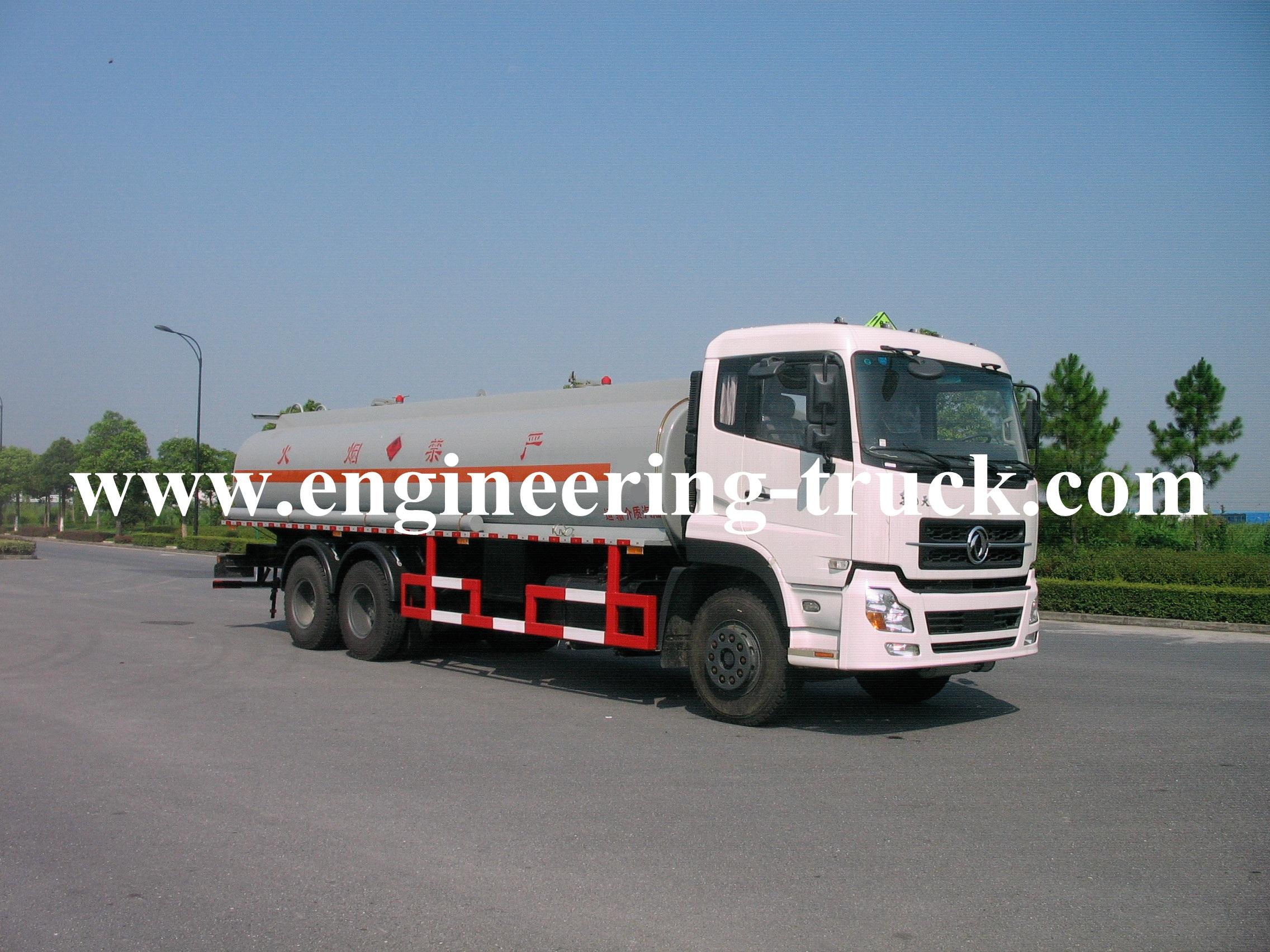 18.5m3 fuel tanker trailer
