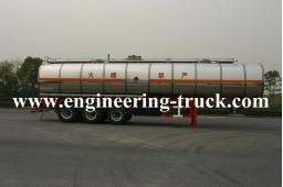 42m3 Chemical Liquid Tank Semi-trailer for Ether/Gas/Diesel