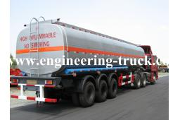 41.2m3 Chemical Liquid Tank Semi-trailer for Cyclopentane/Gas/Diesel