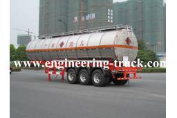 40m3 Chemical Liquid Tank Semi-trailer for Methanol/Gas/Diesel