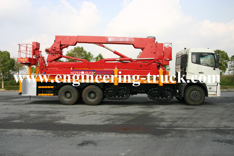 Arm Frame Bridge Inspection Vehicle