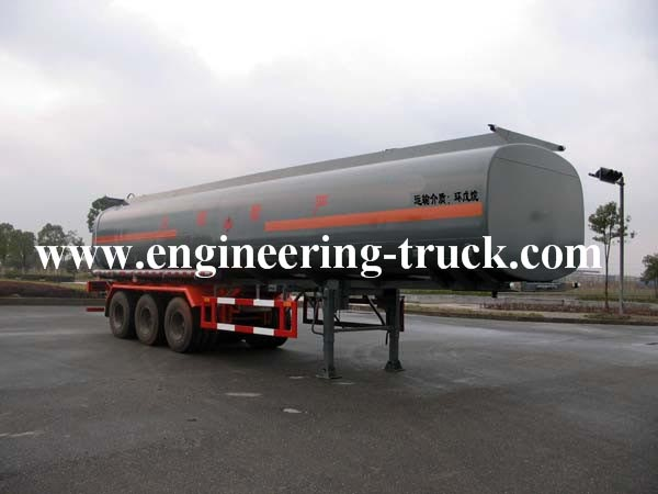 46m3 Flammable Liquid Tank Semi-trailer for Triathlete