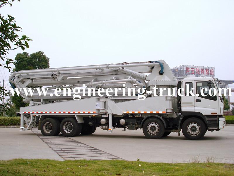 ISUZU Truck-mounted Concrete Pump 47m