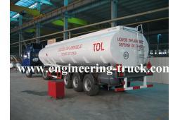 48m3 Flammable Liquid Tank Semi-trailer for Di-ethyl ether