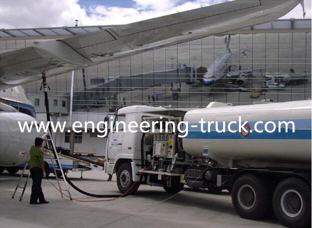 Aircraft Refueller Tank Truck