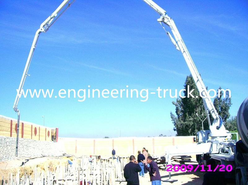 47M German Benz Chassis Concrete Pump Equipment