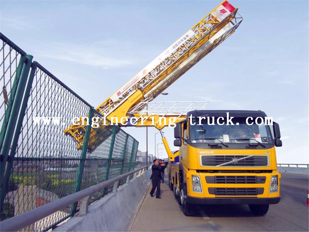 Girder Bridge Inspection truck