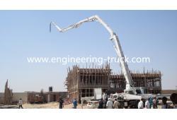 HOWO&ISUZU chassis 48 meter cement pump truck