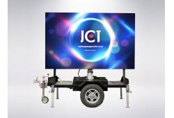 Rotating Mobile LED Trailer E-F4